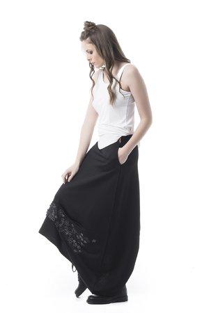 Mamatayoe Gianduja Dámská sukně černá