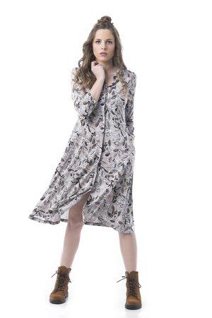 Mamatayoe Grand Cru Dámské šaty šedá