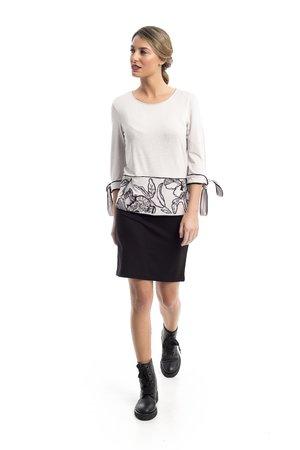 Mamatayoe Hermes Dámské šaty šedá