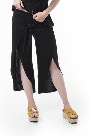 Mamatayoe IL Principe Dámské kalhoty černá