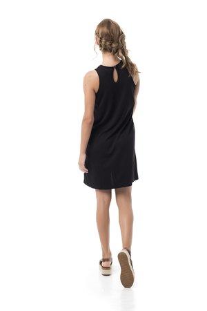 Mamatayoe Joie de Vivre Dámské šaty černá