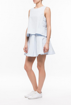 Ryujee KETSIA sukne modrá