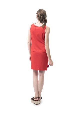 Mamatayoe La Celestina Dámské šaty červená