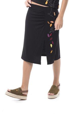 Mamatayoe La Veloce Dámská sukně černá