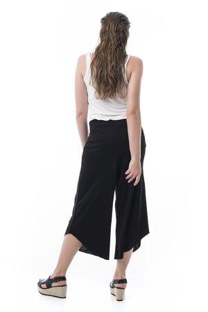 Mamatayoe Lacock Dámské kalhoty černá