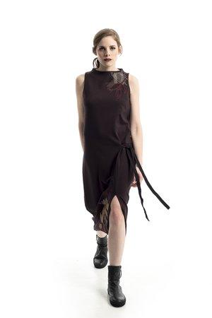 Mamatayoe Laurel Dámské šaty hnědá