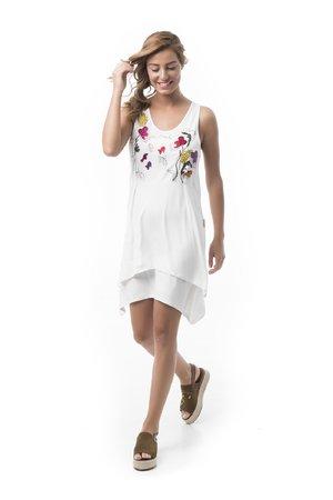 Mamatayoe Le Petit Prince Dámské šaty bílá