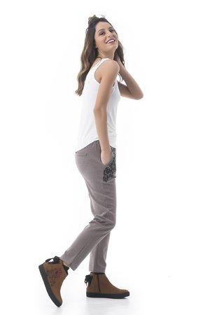Mamatayoe Licor Dámské kalhoty šedá