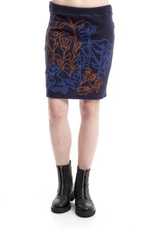 Mamatayoe Mica Dámská sukně modrá