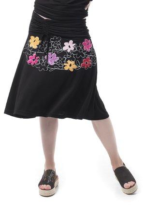 Mamatayoe Nature Dámská sukně černá
