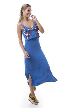 Mamatayoe Oia Dámské šaty modrá