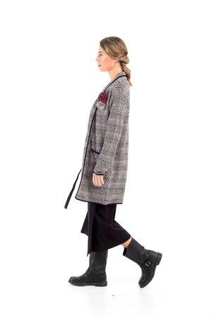 Mamatayoe Pas Perdus Dámský kabát šedý