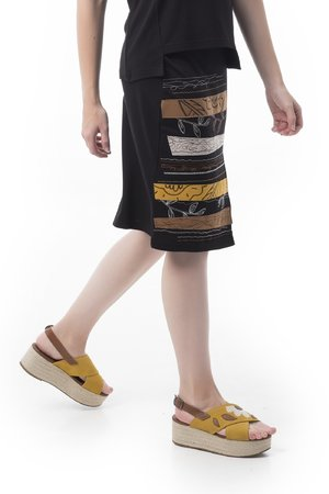 Mamatayoe Pinocchio Dámská sukně černá