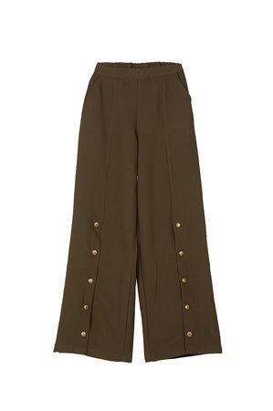Nekane PIRITA Dámské kalhoty zelená2 tmavě zelená
