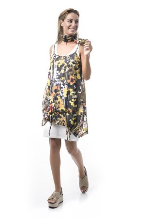 Mamatayoe Provesende Dámské šaty mix barev barev
