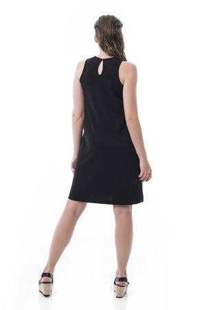 Mamatayoe Rye Dámské šaty černá