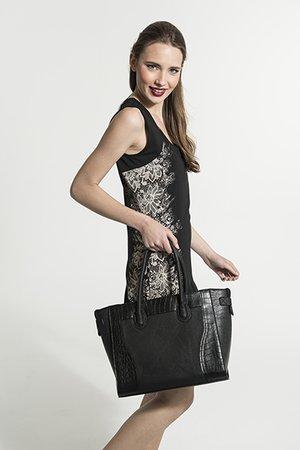 Smash AGAPANTO kabelka černá jedna velikost