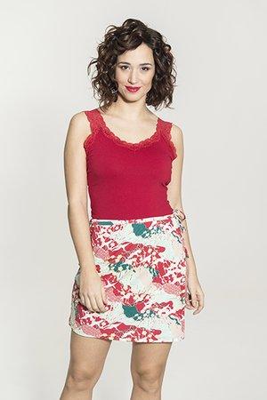Smash PANTCH Dámská sukne červená