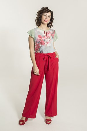 Smash KIOWA Dámské nohavice červená