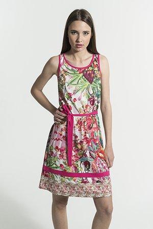 Smash FLAVIA Dámské šaty růžová