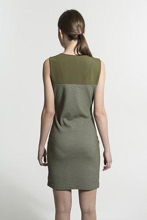 Smash SONIA Dámské šaty tmavě zelená