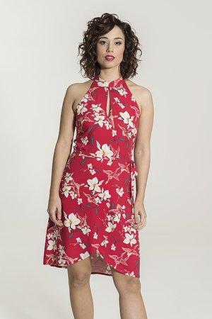 Smash VALESCA Dámské šaty červená