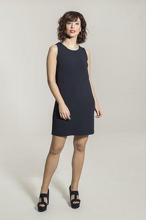 Smash MEDUSA Dámské šaty tmavě modrá