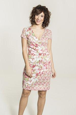 Smash AVELINA Dámské šaty růžová