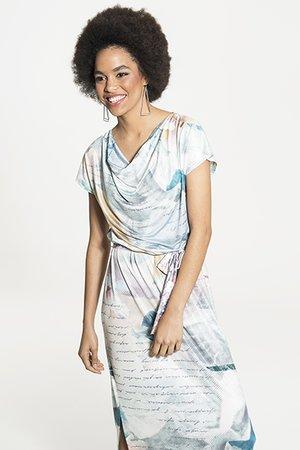 Smash PAULA Dámské šaty modrá