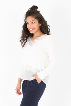 Smash CORDELIA Dámské tričko biela