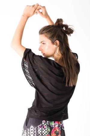 Smash AUDREY Dámské tričko čierna