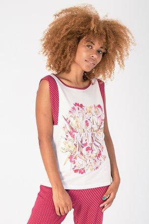 Smash LISA Dámské tričko béžová