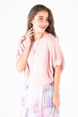 Smash PASTEL Dámský sveter ružová