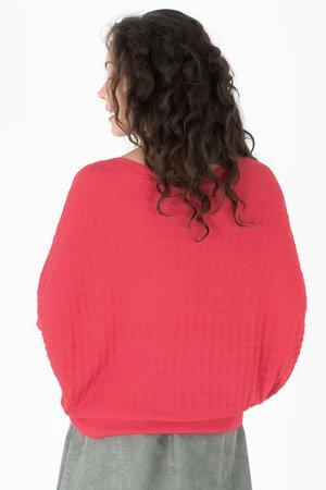 Smash PASTEL Dámský sveter červená