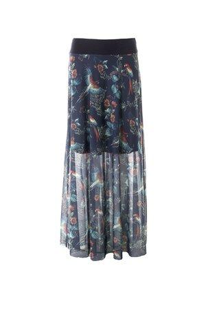 Smash TRIBU Dámská sukně tmavě modrá