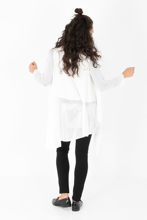 Smash ESMERALDA Dámský sveter biela