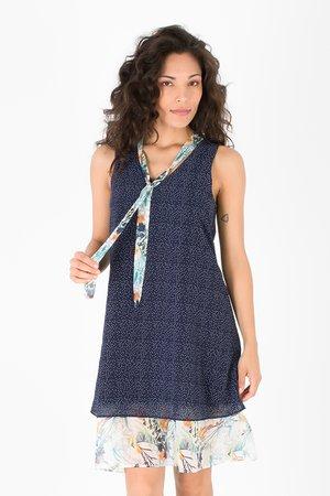 Smash GIOVANNA Dámské šaty tmavě modrá