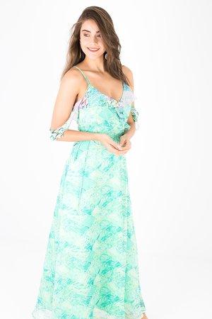 Smash JACQUELINE Dámské šaty modrá