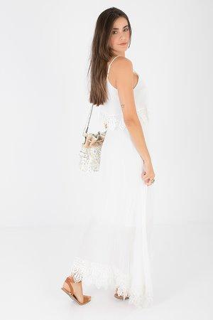 Smash GENASIS Dámské šaty bílá