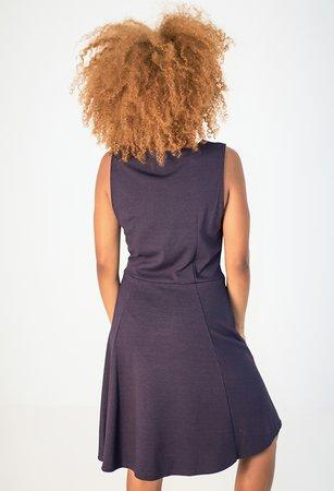 Smash MABEL Dámské šaty tmavě modrá