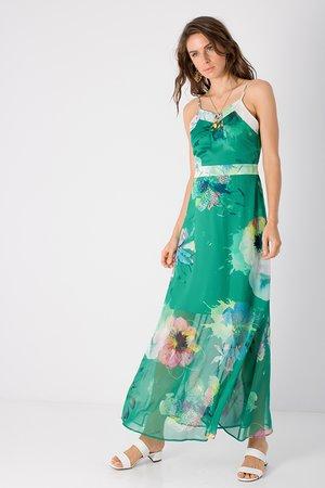 Smash DELILAH Dámské šaty zelená