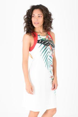 Smash HANNA Dámské šaty bílá