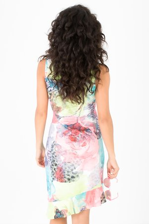Smash MARTHA Dámské šaty mix barev barev