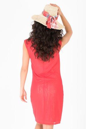 Smash HAGAR Dámské šaty červená