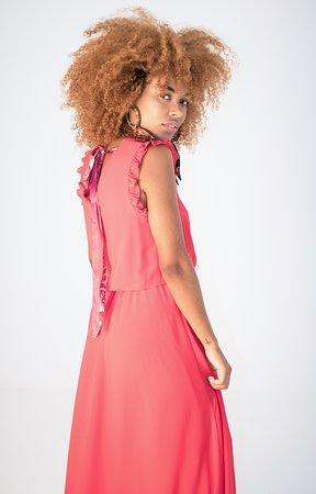 Smash LUCIANA Dámské šaty červená