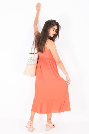 Smash MARYAM Dámské šaty oranžová
