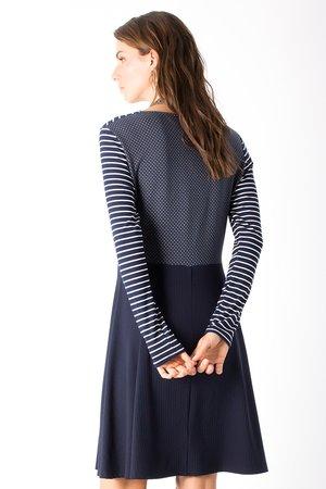 Smash PRESLEY Dámské šaty tmavo modrá