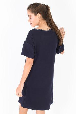 Smash RAELYN Dámské šaty tmavo modrá