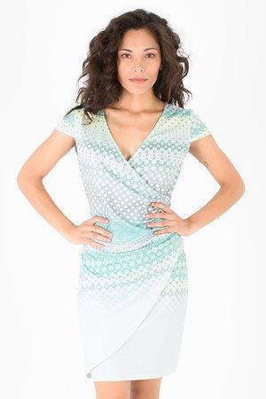 Smash AVELINA Dámské šaty zelená