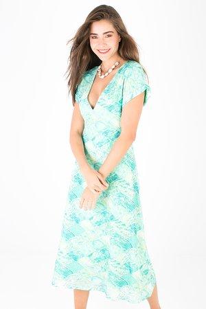 Smash MORIAH Dámské šaty modrá